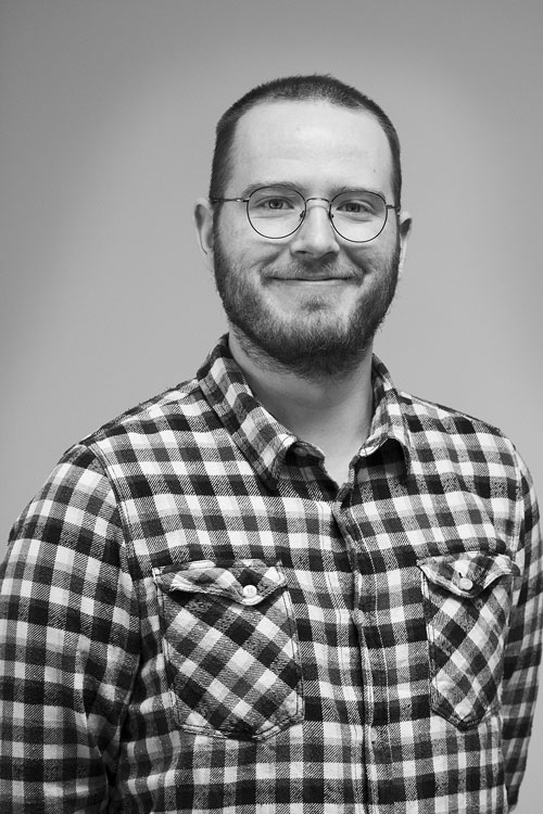 Portrait of Project Manager Andreas Gravermoen