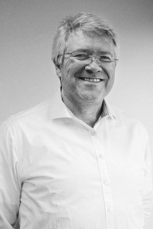 Portrait of senior project manager Håkon Jacobsen