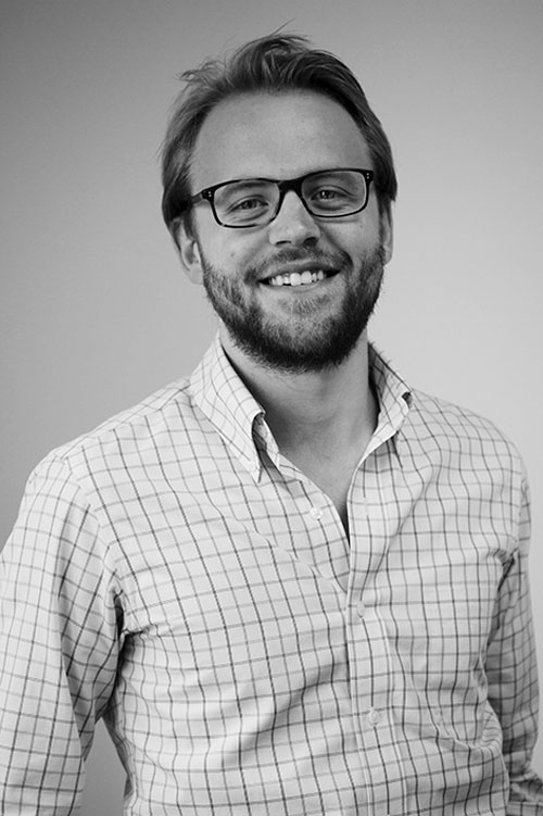 Portrait of Gture's senior project manager Henrik Tveit