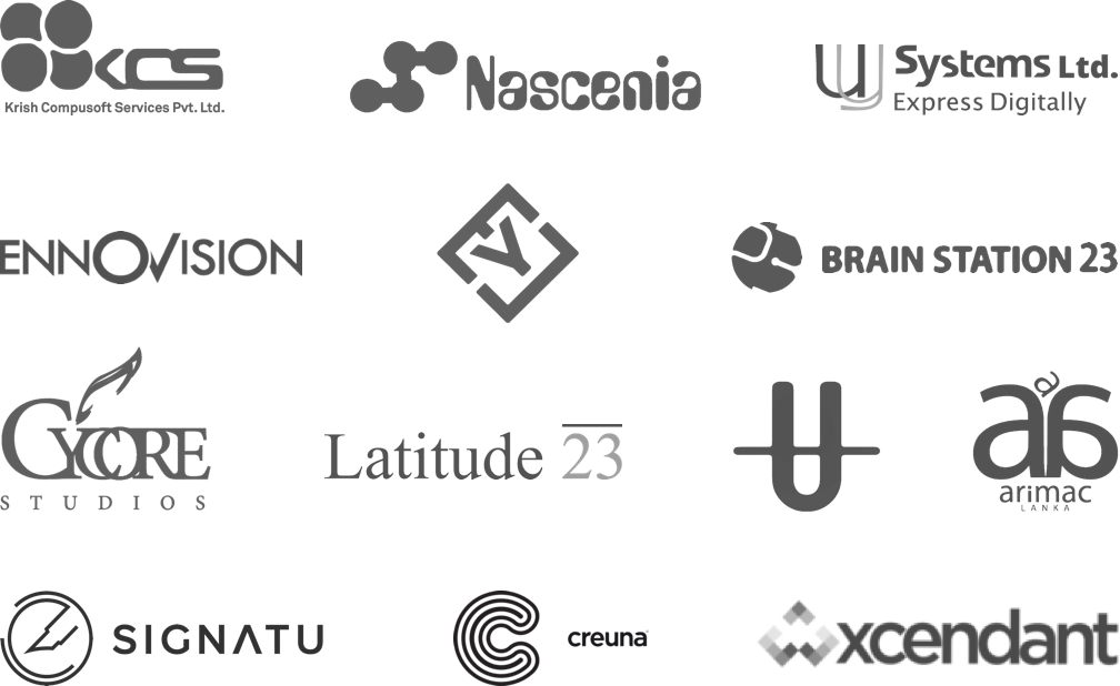 A picture of Gture's global partner network.