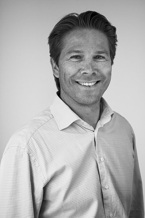 Portrait of COO and Co-Founder Rolv-Erik Spilling